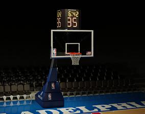 3D NBA Basketball Hoop