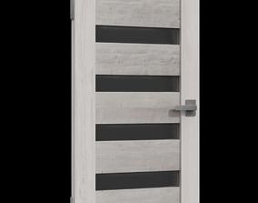 3D Modern Door building-component