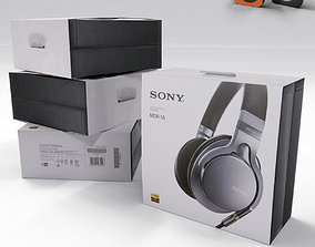 3D Sony MDR A1 Box Pack