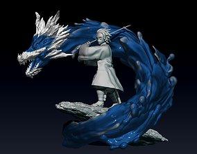 kimetsu no yaiba - demon slayer tanjiro 3D print model 1