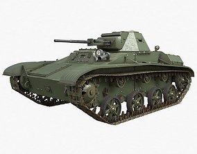 Tank T 60 Soviet Vray 3D