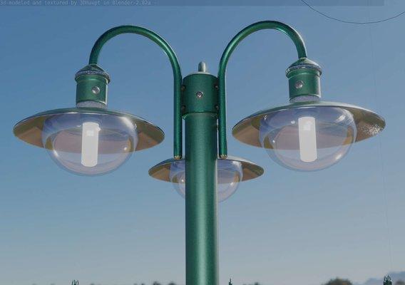 Street Light -7- Moss Green Version