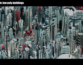 3D model 35 Futuristic Buildings VOL 2