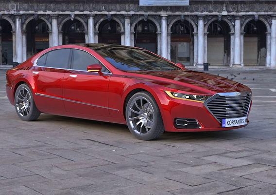My concept sedan