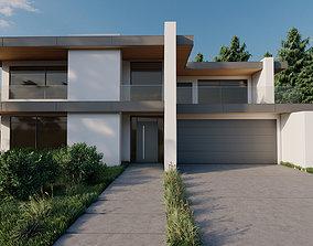 house residental Modern House 3D model