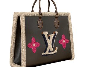 3D model Louis Vuitton Onthego Bag GM