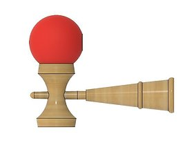 3D printable model cup Classic Kendama