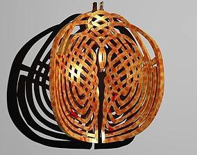 3D printable model Swan Knot Pendant