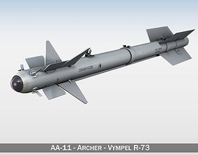AA-11 Archer - Vympel R-73 3D