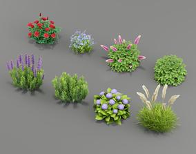 3D model realtime Flower G02