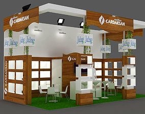 Exhibition Stand - ST0019 3D