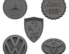 3D print model Car logo Fridge Magnets V1