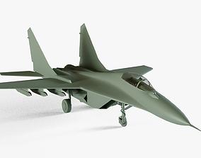 Mikoyan MiG-29 3D model VR / AR ready