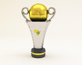 Coupe Confederation Caf 3D