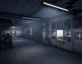 Abandoned Psychiatric Hospital 3D asset
