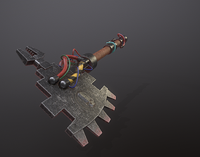 3D model Power Axe
