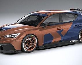 3D model Seat Leon Cupra Competicion 2020