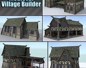 3D asset Medieval Village Builder