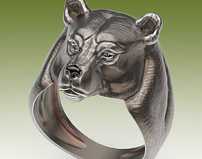 Ring Bear 3D printable model