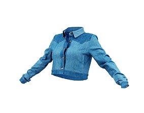 3D model Neat Jeans Jacket