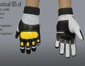 FPS hand glove tactical 05 s1 3D model
