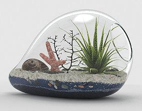 Sea style terrarium 3D