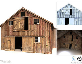 3D model Old Red Barn