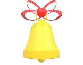 Christmas Bell v1 002 3D model