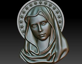 Virgin Mary 2 3D printable model