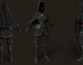3D model Shinobi wear