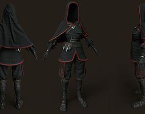 3D model Shinobi wear