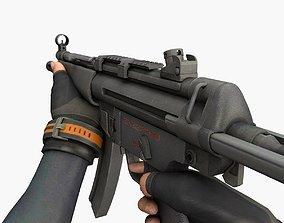 SMG MP5 3D model