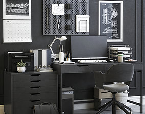 3D Office workplace 15