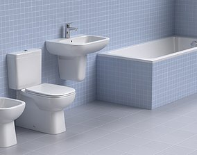 sanitary 3D Duravit Sanitary Ware Collection