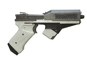3D model Sci-Fi Pistol