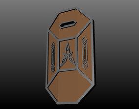 3D print model Dwarven Tower Shield