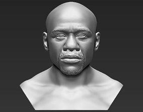 Floyd Mayweather bust 3D printing ready stl obj formats