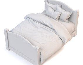 Sofa wish blanket 3D model