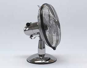 3D Antique Metal Table Fan