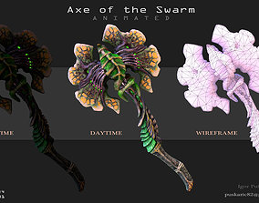3D asset Axe of the Swarm