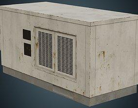 3D model Rooftop AC Unit 4B