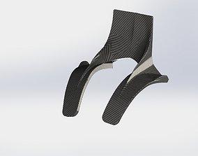 3D hans device for open wheel racing