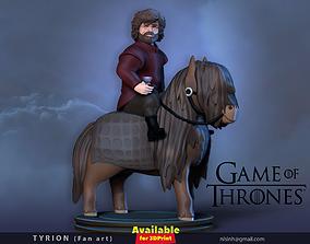 3D print model Tyrion Fan art
