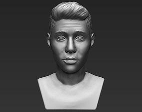 Justin Bieber bust 3D printing ready stl obj