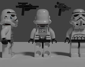 Lego Stormtrooper 3D model
