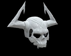 King Hassan Helm and Chest for 3D PRINTING