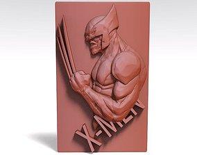 Wolverine CNC 3D print model