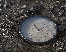 Antique Pocket Watch 3D