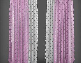 Curtain 3D model 13