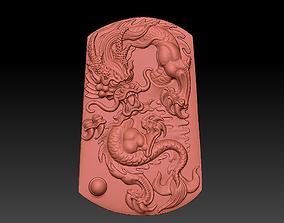 Angry dragon 3D print model